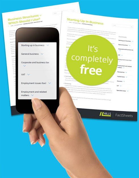 Get free access to valuable tax and financial information for uk business and sole traders